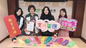 沈嶸老師發願「每月十萬,持續20年」公益捐款 回饋臺灣傳遞正能量
